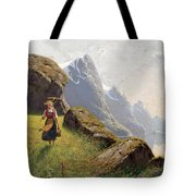 Summer In The Fjord Tote Bag