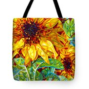 Summer In The Garden Tote Bag