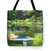 Summer In Vermont Tote Bag