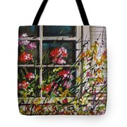 Summer Inside And Out Tote Bag