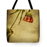 Summer Is Gone Tote Bag