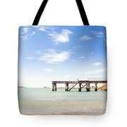 Summer Jetty Tote Bag