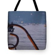Summer Lake Twinkles Tote Bag