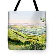 Summer Landscape Inspiration Point Orinda California Tote Bag