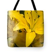 Summer Lilies Tote Bag