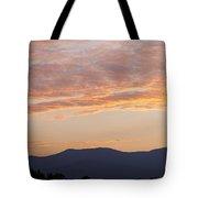 Summer Mountain Dusk Tote Bag