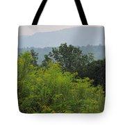 Summer Mountain Vista Tote Bag