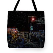 Summer Night At The Pier Tote Bag