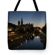 Urban Summer Night.. Tote Bag