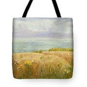 Summer On The Cliffs Tote Bag