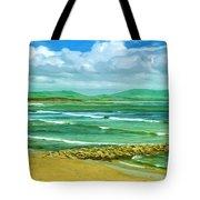 Summer On The Irish Coast Tote Bag