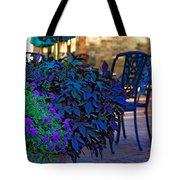 Summer Patio Tote Bag