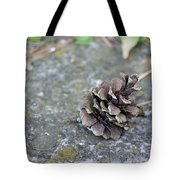 Summer Pinecone Tote Bag