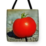 Summer Red Tomato Tote Bag