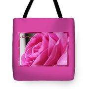 Summer Rose Tote Bag