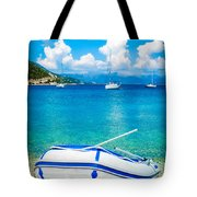Summer Sailing In The Med Tote Bag