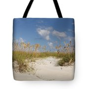 Summer Sea Oats Tote Bag