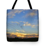 Summer Sets Panorama Tote Bag