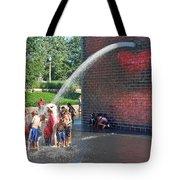 Summer Shower Tote Bag