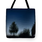 Summer Silhouette Tote Bag
