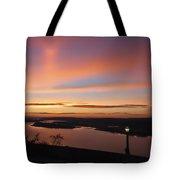 Summer Skies At Crown Point Tote Bag