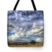 Summer Sky Farm Tote Bag