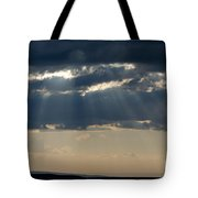 Summer Storm Clouds Tote Bag