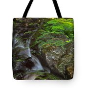Summer Stream Waterfall Tote Bag