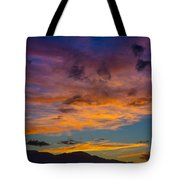 Summer Sunset Colorado Tote Bag