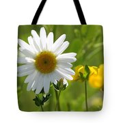 Summer Sunshine On Wildflowers Tote Bag