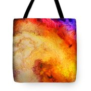Summer Swirl Tote Bag by Pixel Chimp