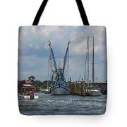 Summer Time Boating Tote Bag