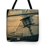Summer Time On The Boat Tote Bag