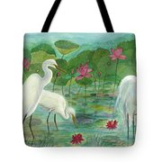 Summer Trilogy Tote Bag