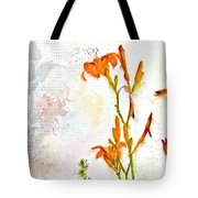 Summer Trinity Top One Of Three Tote Bag