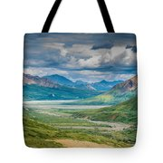 Summer Valley Tote Bag