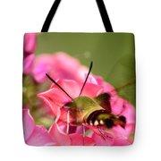 Summer Visitor Tote Bag by Lori Tambakis