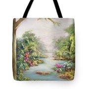 Summer Vista  Tote Bag by Hannibal Mane