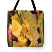Summer Yellow Gladiolus Tote Bag