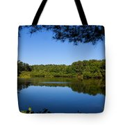 Summers Blue View Tote Bag