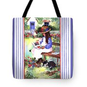 Summer's Day Story Tote Bag