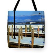 Summers Docked For Winter Tote Bag