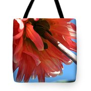 Summer's End Dahlia Tote Bag