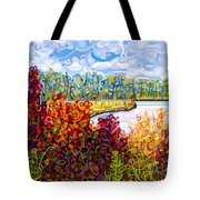 Summer's End Tote Bag by Mandy Budan