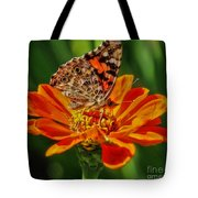Summers Last Butterfly Tote Bag