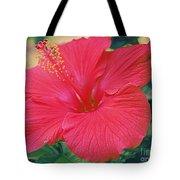 Summer's Last Hibiscus Tote Bag