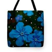 Summertime Blues Pop Art Tote Bag