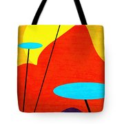 Summertime Blues Tote Bag