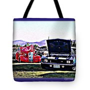 Summertime Class Car Show Tote Bag