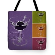 Summertime Cocktail Time Tote Bag